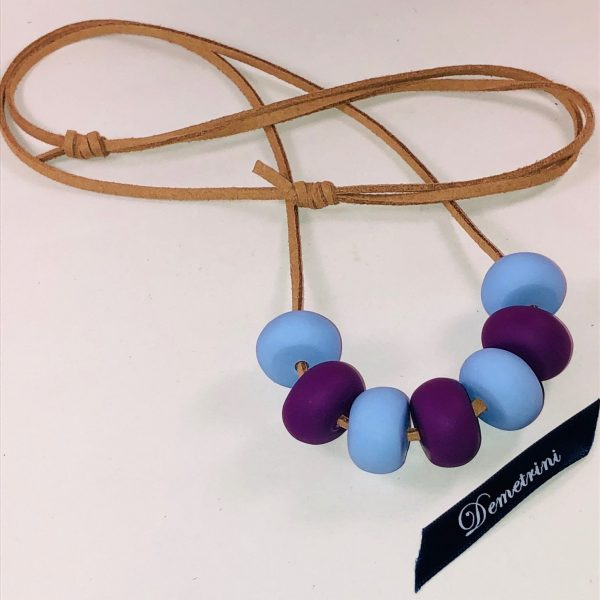 Costume Jewellery - Eila Polymer Clay beads Necklace
