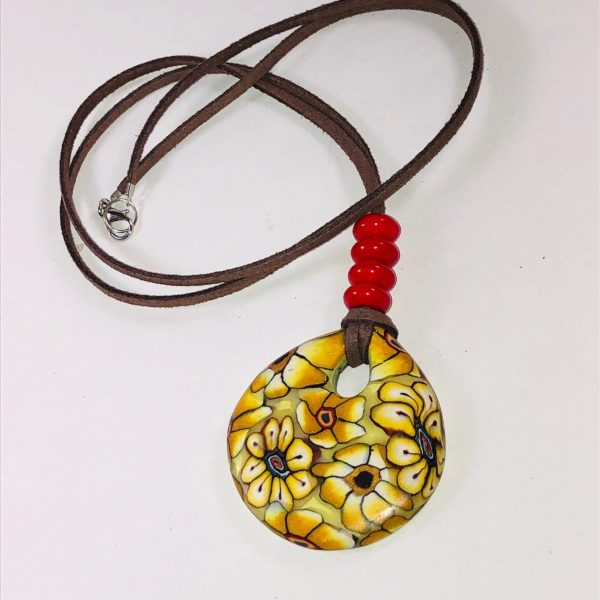 Costume Jewellery - Marge Pendant Necklace