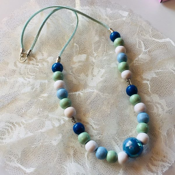 Costume Jewellery - Blue Day Necklace