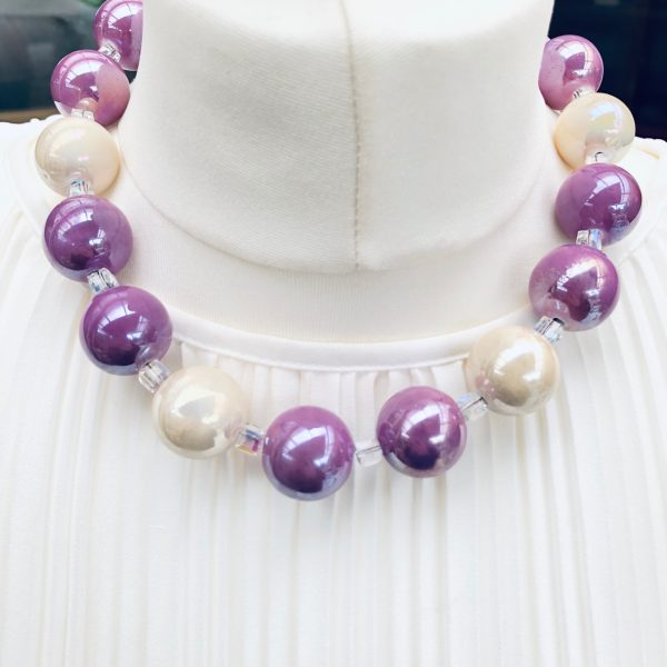 Costume Jewellery - Large Beads Necklace