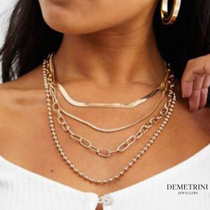 fashion multilayer necklace